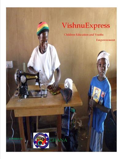 VishnuExpress @ Neo Humanist School Ejura Ashanti Region.